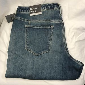 Mossimo jeans women's Mid-Rise bootcut size 14/32L
